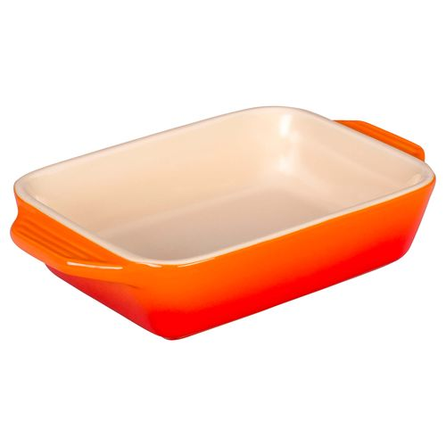 Platon-Rectangular-18-cms-Le-Creuset®-color-naranja-flame