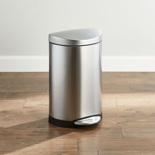 Bote-de-Basura-Simplehuman-de-Acero-Inoxidable-Crate-and-Barrel