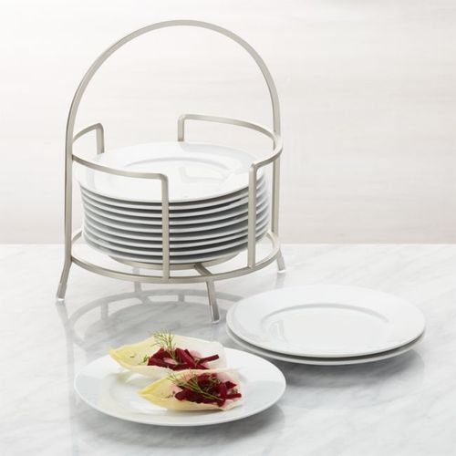 Set-de-12-Platos-para-Aperitivo-Cambridge-de-15-cm-con-Base-Crate-and-Barrel