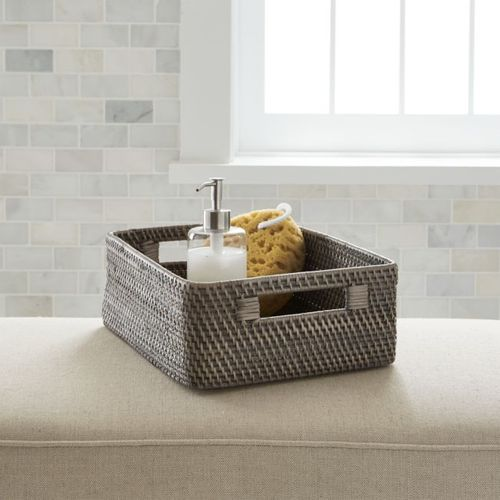 Canasta-para-Baño-Sedona-Gris-Crate-and-Barrel