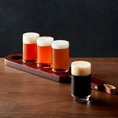 Set-de-Vasos-Prospect-con-Bandeja-de-Madera-Crate-and-Barrel