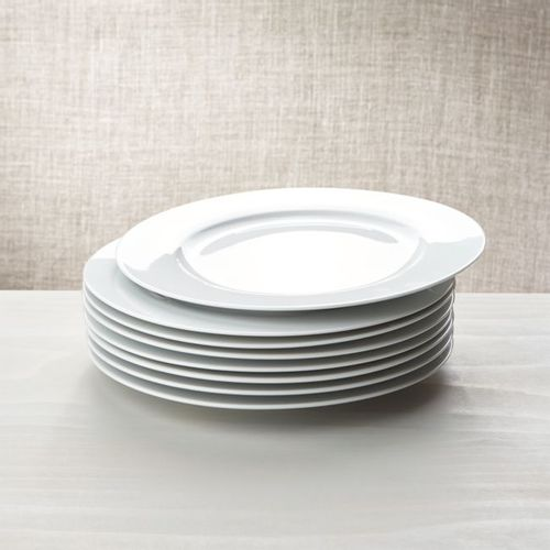 Set-de-8-platos-Blancos-de-Porcelana-Crate-and-Barrel
