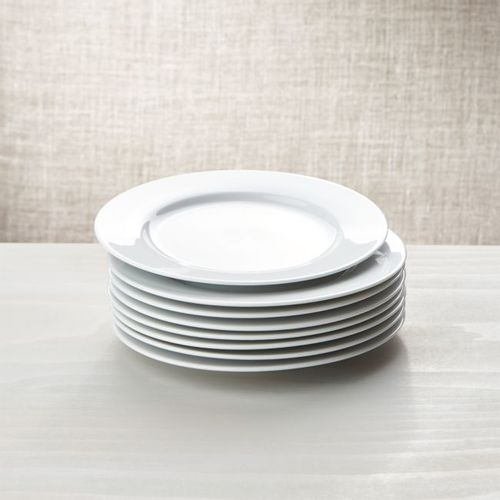Plato-de-Ensalada-Blanco-de-Porcelana-Crate-and-Barrel