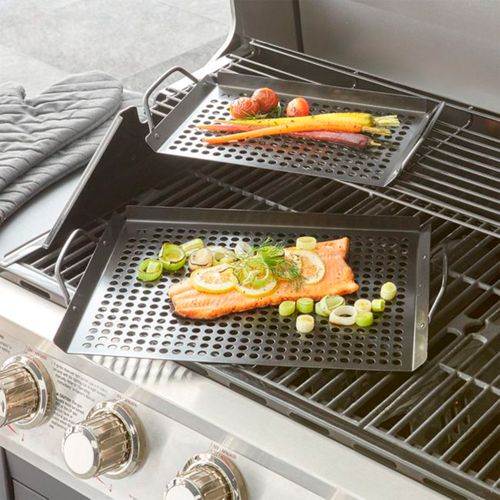 Set-de-2-sartenes-para-Grill-Crate-and-Barrel