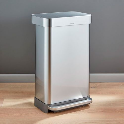 Bote-de-Basura-Simplehuman-Plateado-45L-Crate-and-Barrel