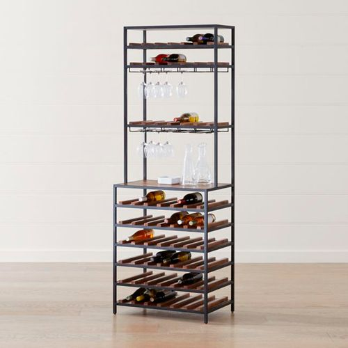 Knox-Black-Tall-Open-Wine-Tower-Crate-and-Barrel