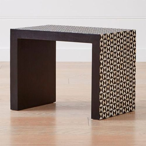 Intarsia-Black-C-Table-Crate-and-Barrel