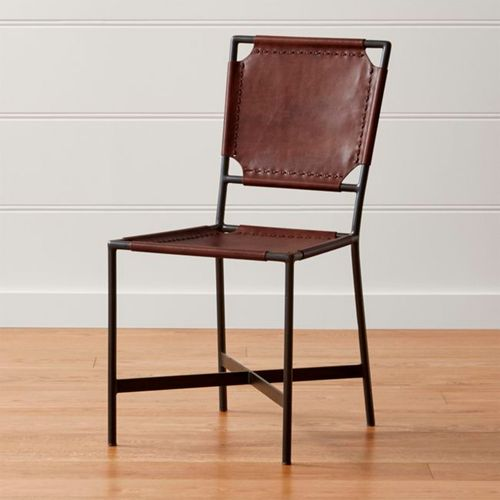 Laredo-Brown-Leather-Dining-Chair-Crate-and-Barrel